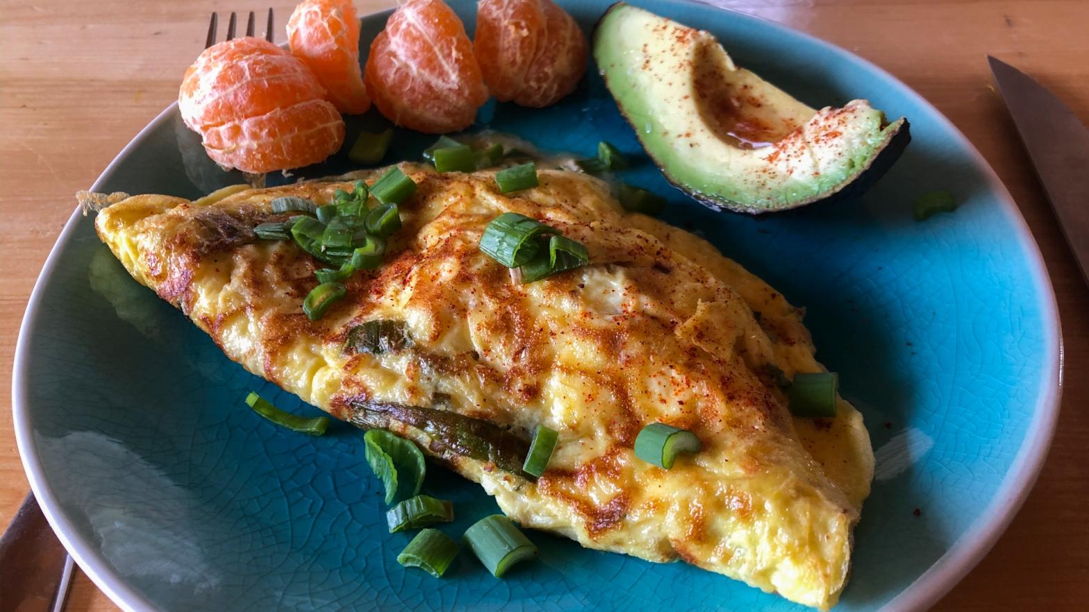 Ricotta Omelette
